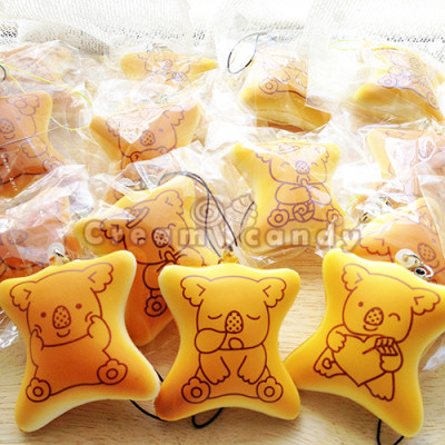 koala biscuit cute phone strap squishy