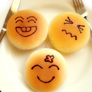 squishy pancake cute face fake food cute