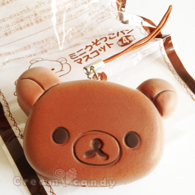rilakkuma bear chocolate accessory cute gifts phone strap