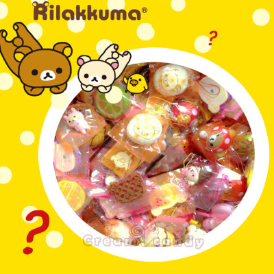 rilakkuma squishy lot bun bread kawaii cute squishies collection set