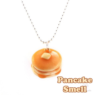Scented stacked pancakes necklace for How to make scented jewelry