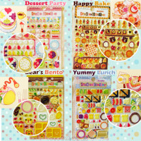 cute dessert cupcake puffy stickers kawaii buy online australia
