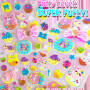 puffy cute kids 3D stickers bears donut kawaii japan stickers buy online australia stationery store