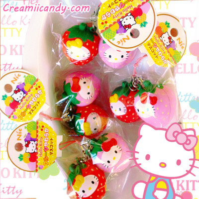 hello kitty twin strawberry rare squishy kawaii cute store shop nic