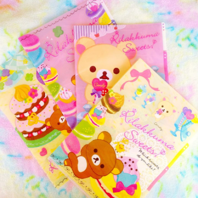 rilakkuma san-x stationery a4 folder cute goodies gifts kids kawaii korialakkuma buy online