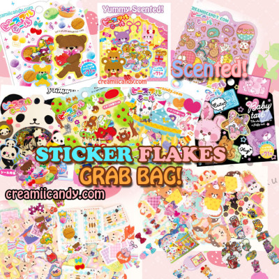 sticker flakes japanese sticker sack kawaii cute mind wave japan cute buy online store australia