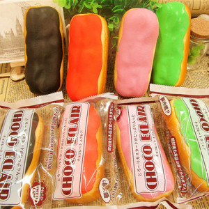 chocolate eclaire jumbo squishy rare japan squishy stuff onlien shop
