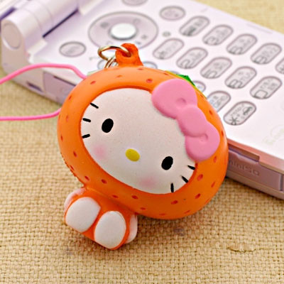 hello kitty orange squishy