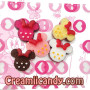 minnie mouse cabochon deco den cute cake
