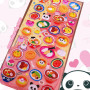 panda stickers panda bento kawaii japanese stickers puffy 3D mind wave