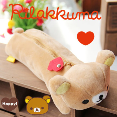 rilakkuma plush pencil case cheap cute san-x kawaii good