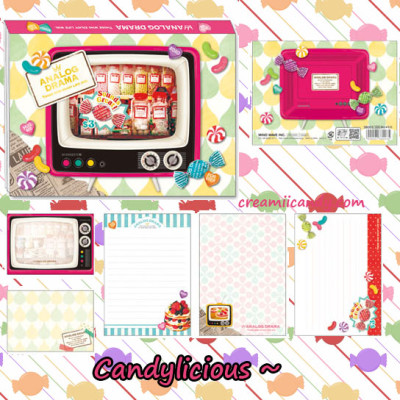 candy vintage memo pad cute note pad writing paper japan kawaii shop