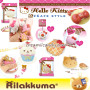 hello kitty rilakkuma san-x sanrio sweets style ice cream macaron stacked rare sweets cafe nic squishy buy online cute shop