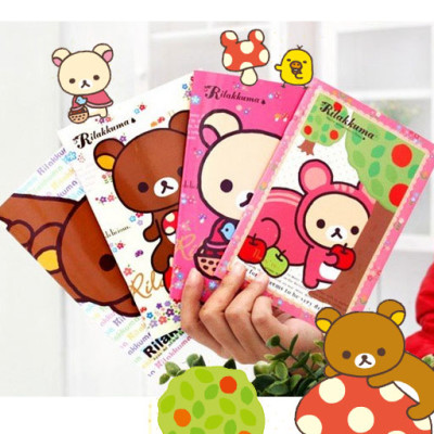 rilakkuma korilakkuma san-x stationery book memo books kawaii cute stuff