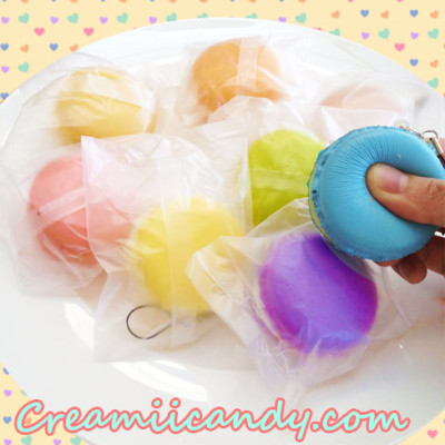 pastel macaron squishy cute macaron food sweet accessory gifts kids buy online