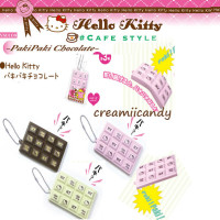 rare sanrio licensed authentic hello kitty cracking chocolate bar squishy
