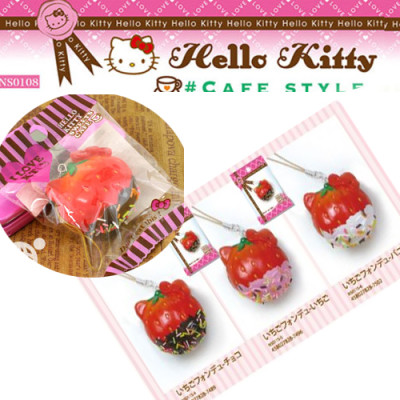 hello kitty strawberry squishy cute sanrio sweets cafe