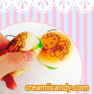 hello kitty mini burger squishy kawaii cute stuff