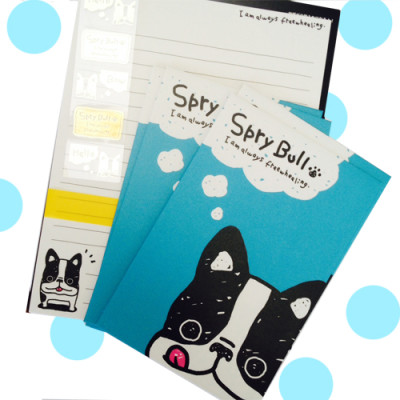 cute dog themed memo letter set pad cute shop australia