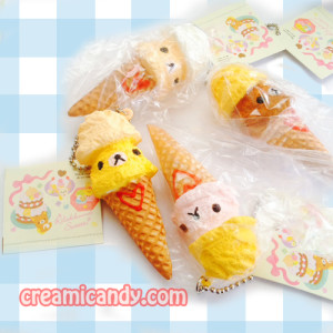 rilakkuma ice cream squishy cute kawaii san-x things accessories buy online shop store australia