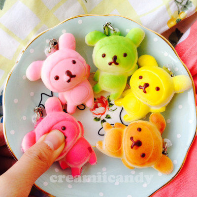 candy rilakkuma squishy toy sanx cute stuff online