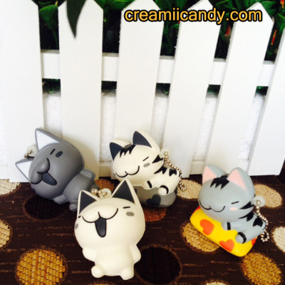 cute rare charcter cat kitty squishy toys gifts bag ideaas