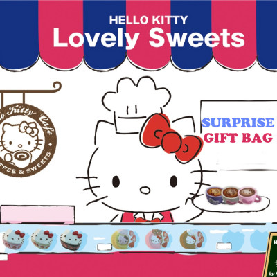 hello kitty sanrio lovely sweets latte donut rare squishy surprise gift bag kids australia shop