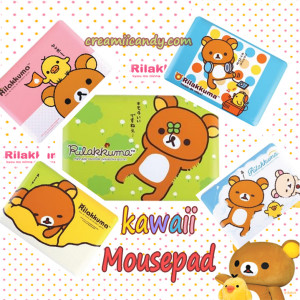 rilakkuma cute mouse pad buy online kawaii stuff