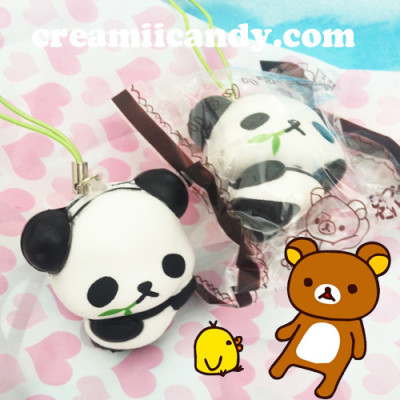 san-x rilakkuma cute kawaii panda squishy strap phone strap cute stuff accessory shop australia