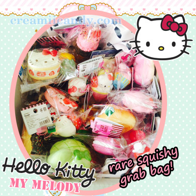 hello kitty sanrio rare squishy grab bag kids gift store kawaii cute stuff online shop australia
