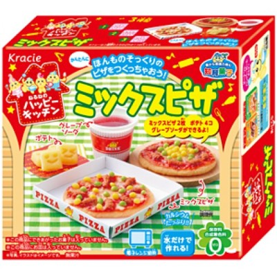 kracie popin cookin candy pizza