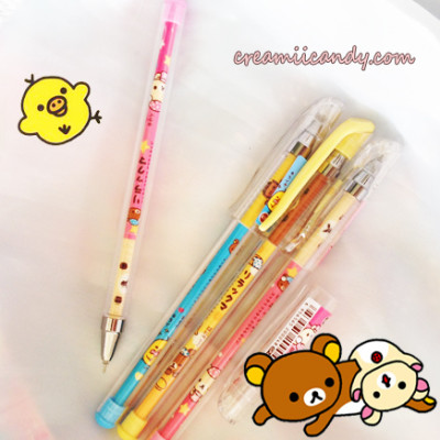 rilakkuma san x stationery cute things kawaii stuff