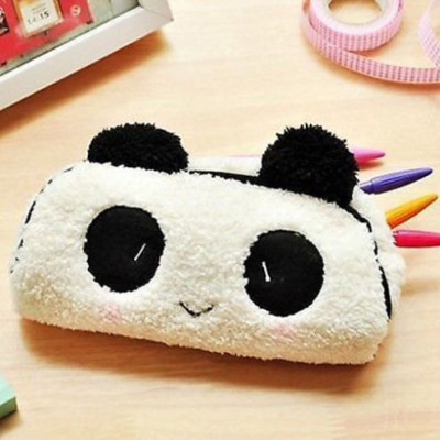 cute fluffy panda pencil case cute things shop australia kawaii things
