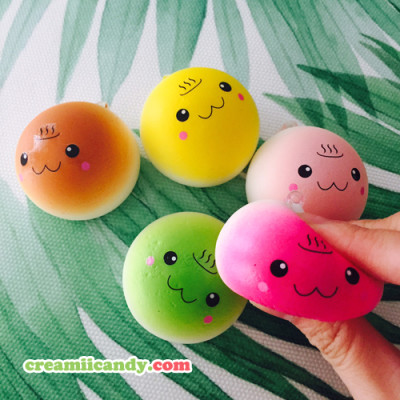 cute onsen mini bun squishy australia shop buy online