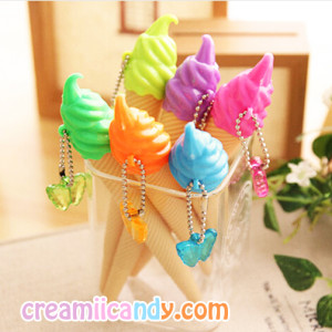 icecream pen cute pens kawaii