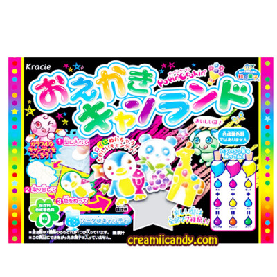 kracie oekaki gummy land popin cookin candy kit