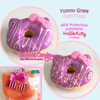 rare hello kitty jumbo donut squishy grape purple kawaii australia squishy sanrio authentic original