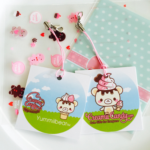 Squishy With Tag : Free Creamiicandy Yummiibear Tag (squishy orders over   USD10)