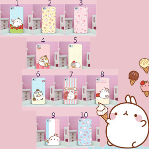 molang iphone case cute kawaii rabbit phone case iphone4 5 6