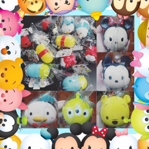 disney tsum tsum mickey minnie mouse pooh bear donald duck toy story squishy