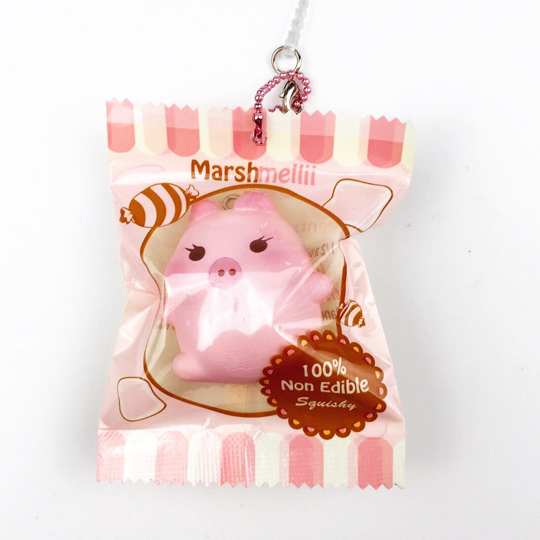 Squishy Order : mini scented Marshmellii~ Marshmallow piggy squishys creamiicandy licensed