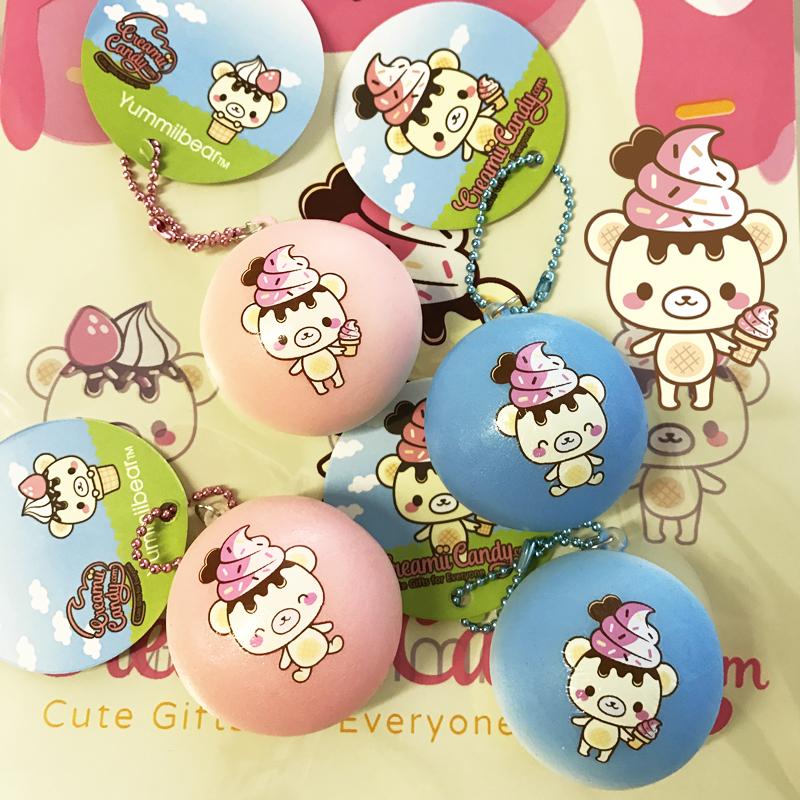 One per customer orders over   USD50 ~ Free Yummiibear bun squishy