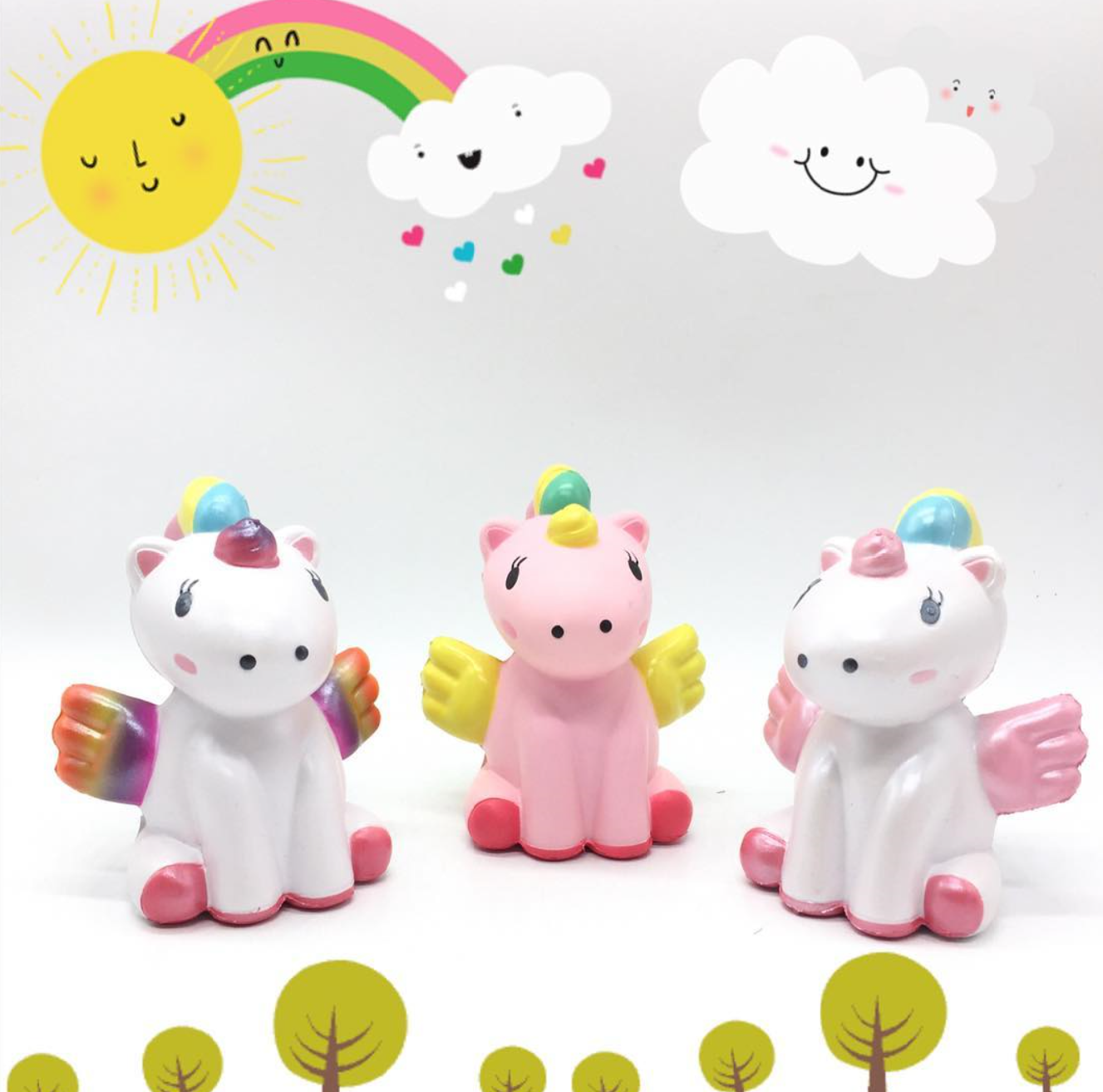 Rare Squishy Images : RARE Limited * Wawaii the magical Unicorn squishy