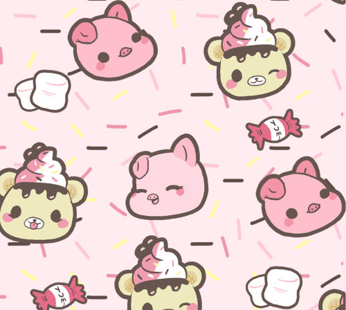 yummiibear pattern for phone