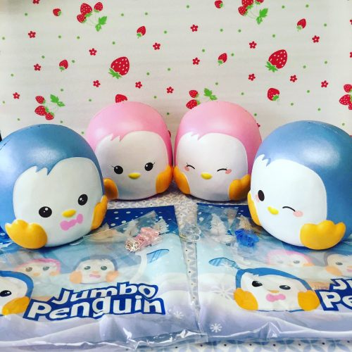 puni maru jumbo penguin squishy cute kawaii things