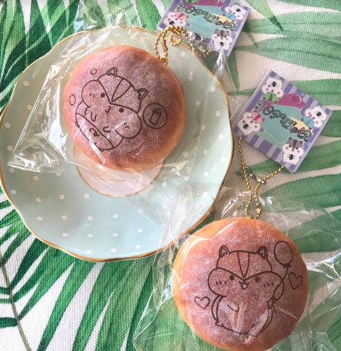 poli sugar bun hamster cute kawaii squishy sugar bun rare squishies