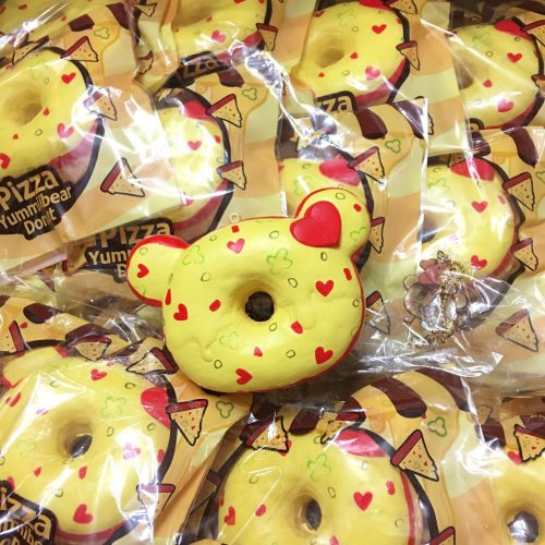 yummiibear pizza donut cute kawaii
