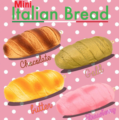 Squishy Bread : Mini Chawa Italian Bread squishy rare